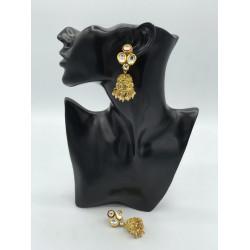 Rose Jhumki Earrings