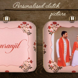 Personalized Picture Clutch (Delivery time 3-4 Weeks)