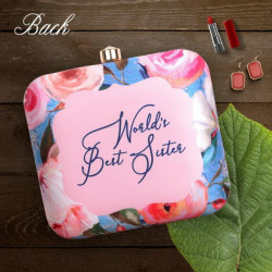 Customized Square Clutch (Delivery time 3 to 4 Weeks)