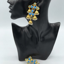 Feroza Earrings