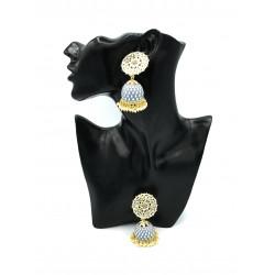 Draco Jhumki Earrings