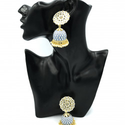 Draco Jhumki Earrings