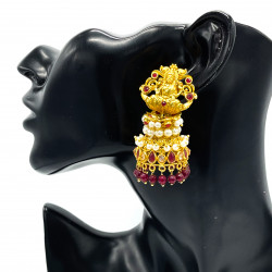 Primrose Temple Earrings