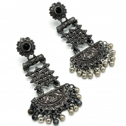 Warrin Oxidized Earrings