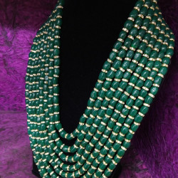 Emerald Green 8 Layer String(Delivery time 3 to 4 Weeks)
