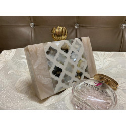 Art work Raisin Clutch (Delivery  time 3 to 4 Weeks)