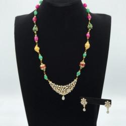 Jollity America Diamond Pendant with String