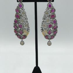 Holocaust American Diamond Earrings