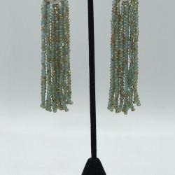 Hydrangea Tassels Earrings